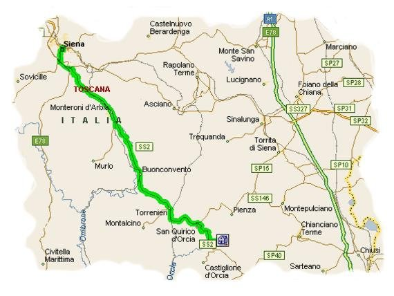 Agriturismo agritourism le sorbelle d 39 orcia pienza siena italia - Distanza da siena a bagno vignoni ...