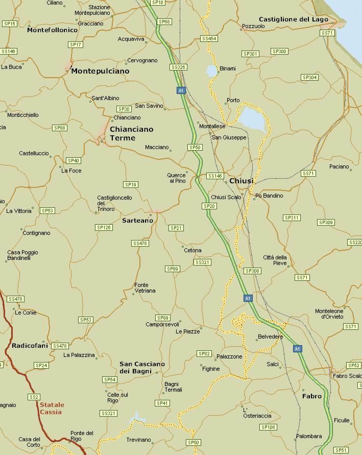 Cartina Toscana Provincia Di Siena.Il Cuore Della Toscana Mappa Val Di Chiana Hotels Provincia Di Siena Toscana